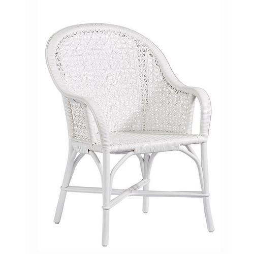 Progressive Furniture - Accent Arm Dining Chair- 1/CTN - White Finish
