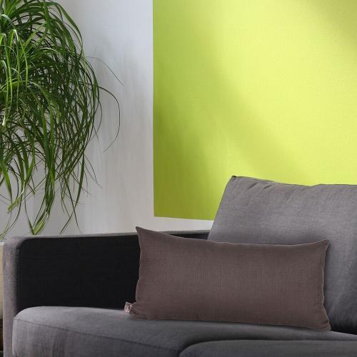 Howard Elliott - Kidney Pillow Sterling Charcoal - Poly Insert
