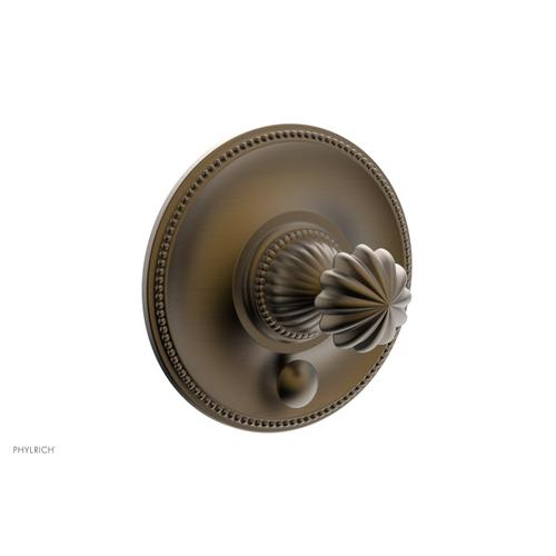 GEORGIAN & BARCELONA Pressure Balance Shower Plate with Diverter and Handle Trim Set PB2361TO - Old English Brass