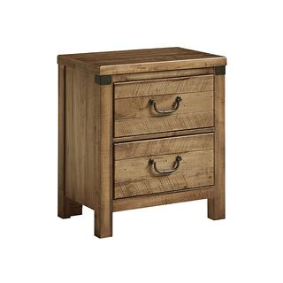 Night Stand - 2 Drawer with USB station