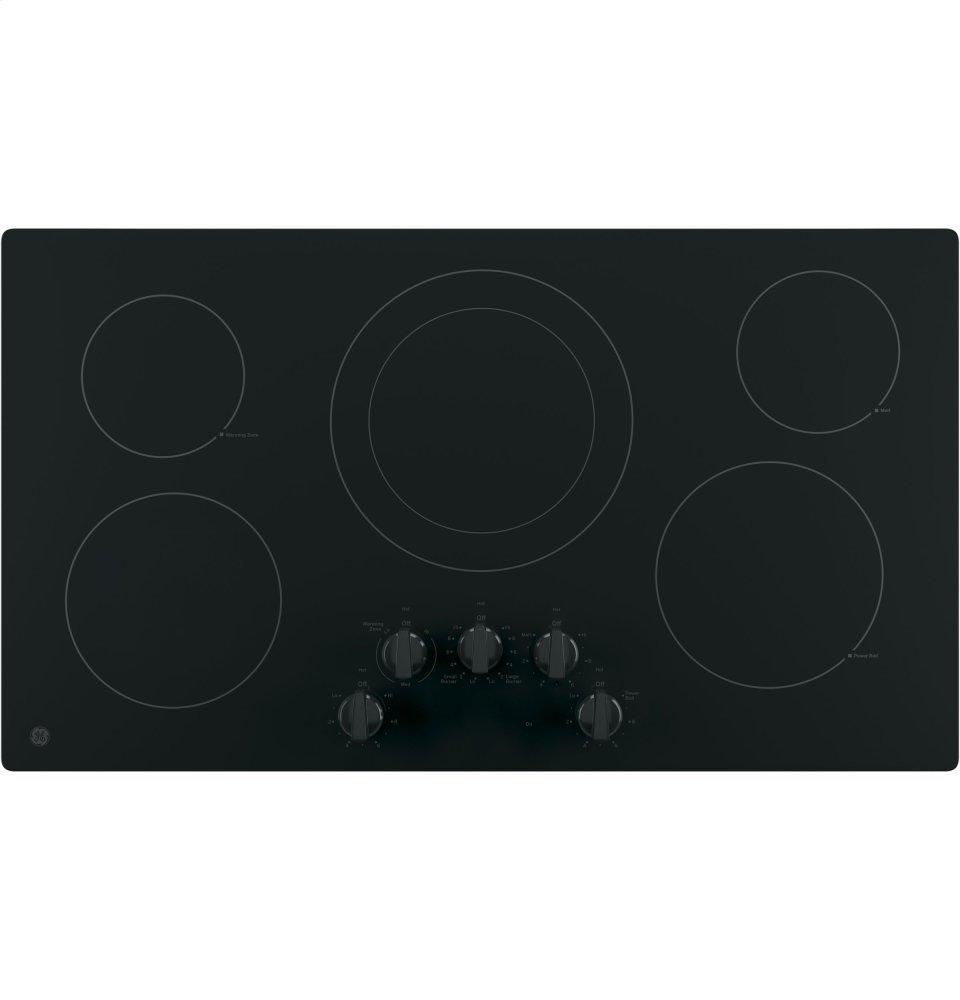 """GEGe® 36"""" Built-In Knob Control Electric Cooktop"""