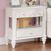 Caroline White Nightstand Product Image