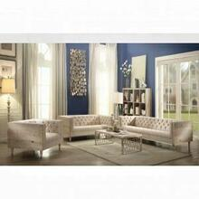 ACME Portia Sofa - 52805 - Beige Fabric