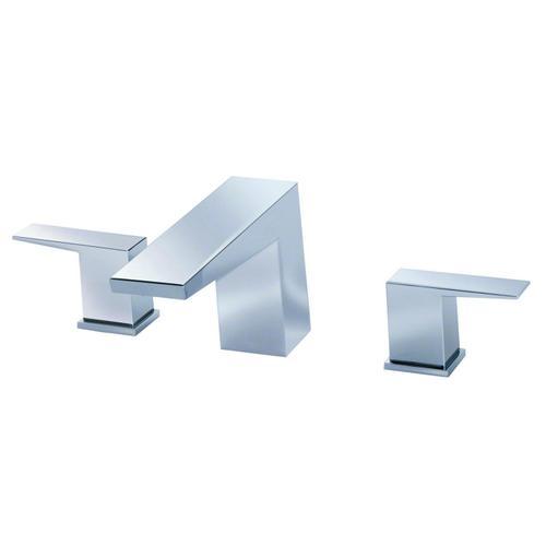 Brushed Nickel Mid-Town® Three Piece Roman Tub Trim Kit