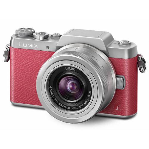 Panasonic LUMIX GF7 Full HD Mirrorless Interchangeable Lens Camera Kit with 12-32 mm Lens - Pink