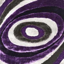 See Details - Winnipeg 5' X 7' Gray & Purple Area Rug