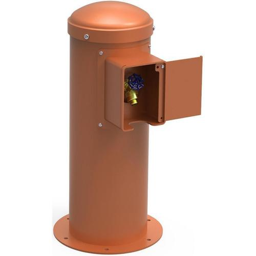 Elkay - Elkay Yard Hydrant with Locking Hose Bib Non-Filtered, Non-Refrigerated Terracotta