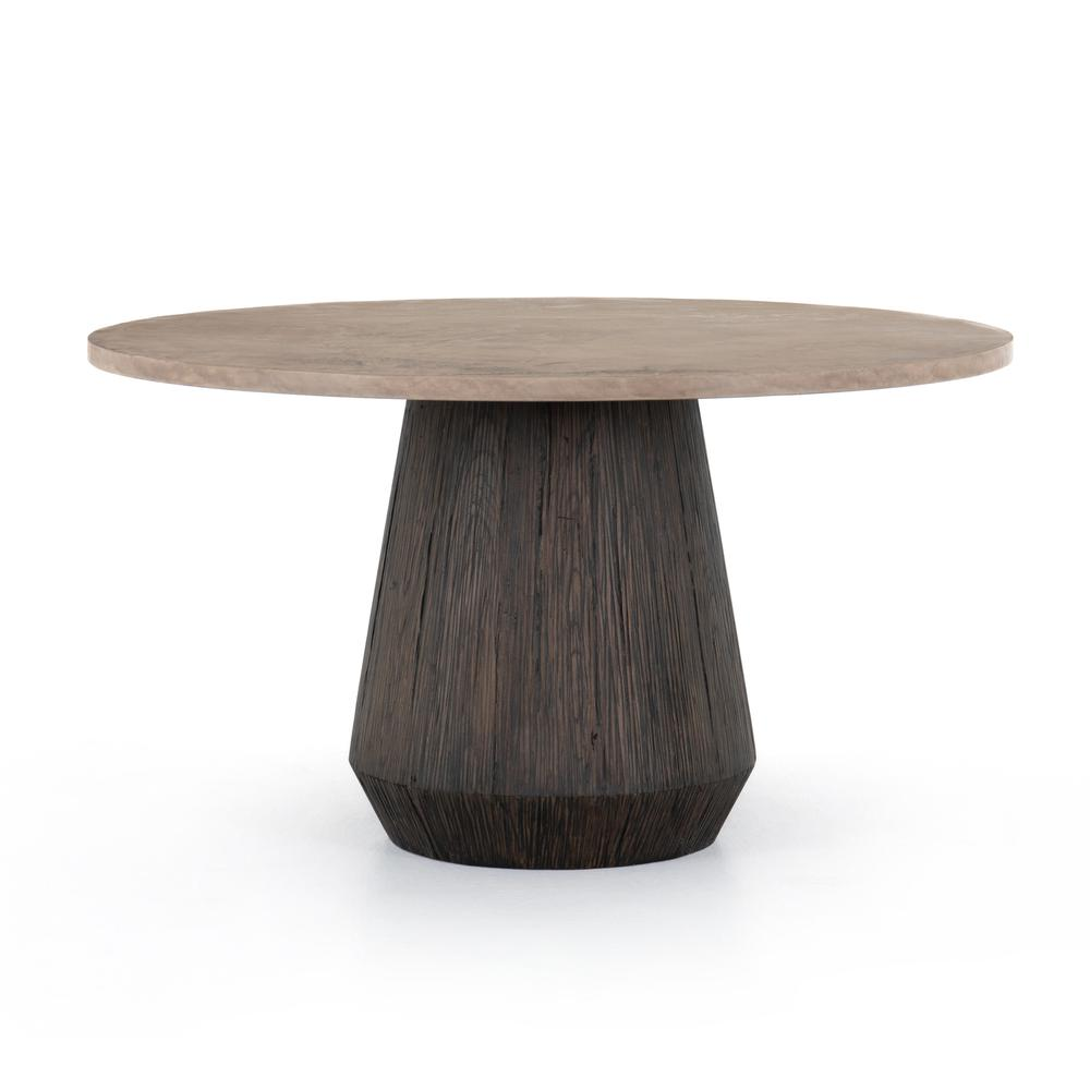 See Details - Darwin Round Dining Table-taupe Cncrt
