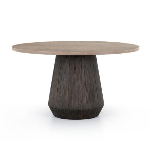 Darwin Round Dining Table-taupe Cncrt