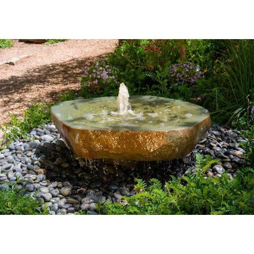 Natural Millstone Fountain, Irregular Shape