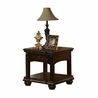 ACME Anondale End Table - 10323 - Cherry