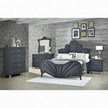 ACME Dante Dresser - 24235 - Glam - Velvet, Inner Frame: MDF, PB, Chipboard - Gray Velvet