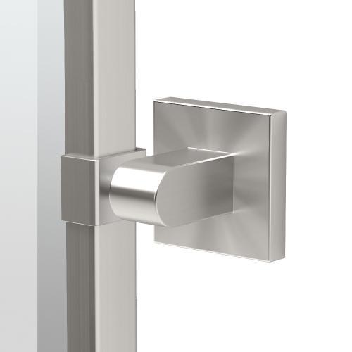 Elevate Framed Rectangle Mirror in Satin Nickel