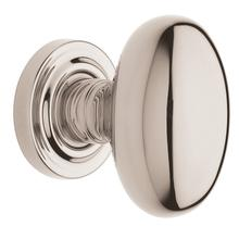 Polished Nickel with Lifetime Finish 5025 Estate Knob