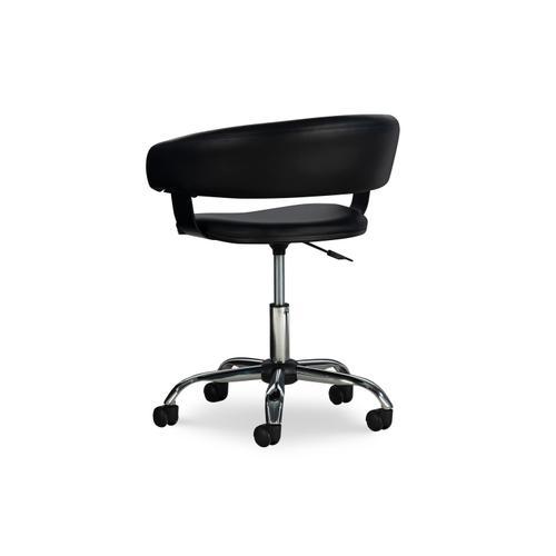 Black Gas Lift Desk Chair