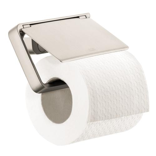 AXOR - Brushed Nickel Toilet Paper Holder with Cover