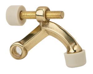 Door Accessories  Hinge Pin Door Stop - Bright Brass Product Image