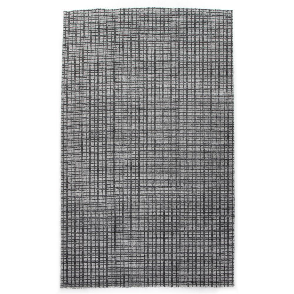 5'x8' Size Alair Rug, Ivory/dark Charcoal