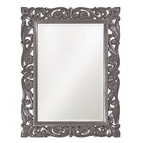 Howard Elliott - Chateau Mirror - Glossy Charcoal