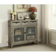 ACME Vernon Console Table - 90286 - Weathered Gray