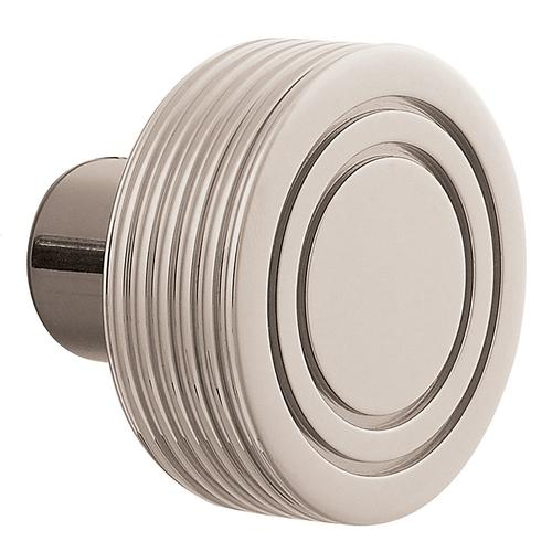 Polished Nickel with Lifetime Finish 5045 Estate Knob