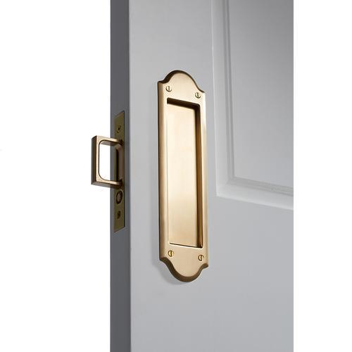 Baldwin - Vintage Brass PD016 Boulder Pocket Door