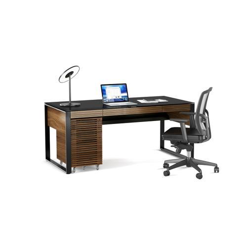 BDI Furniture - Corridor 6507 Mobile File Pedestal in Natural Walnut
