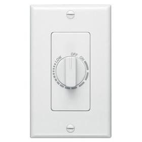 Electronic Variable Speed Control, White, 3 amp capacity. 120V