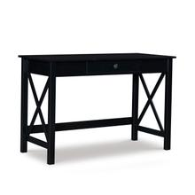 Dover Lap Top Desk 1 Drawer-black