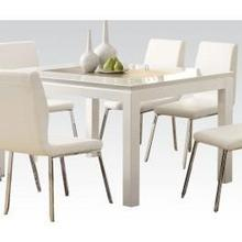 View Product - White Dining Table