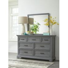 7-Drawer Chest in Mineral Gray
