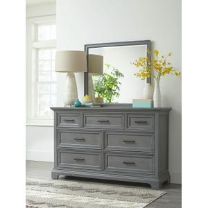 JOHN THOMAS FURNITURE7-Drawer Chest in Mineral Gray