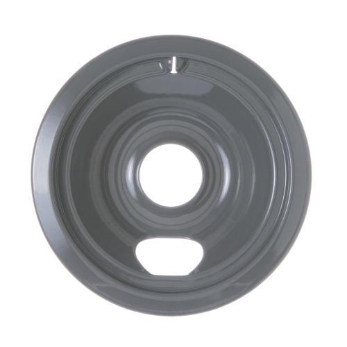 """GE Appliances - Range 6"""" Porcelain Burner Bowl - Gray"""