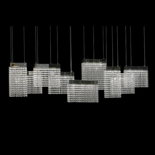 Amini - City Lights Chandelier, Large