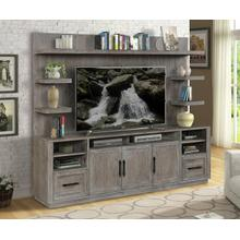 See Details - VECTOR TV Console with Hutch