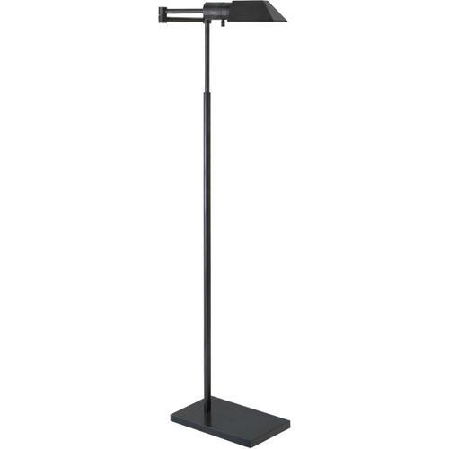 Visual Comfort - Studio Classic 43 inch 40.00 watt Bronze Swing-Arm Floor Lamp Portable Light