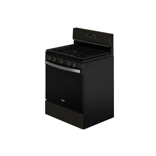 Whirlpool - 5.0 Cu. Ft. Whirlpool® Gas 5-in-1 Air Fry Oven