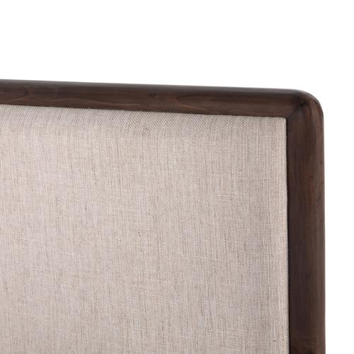 King Size Lineo Upholstered Bed
