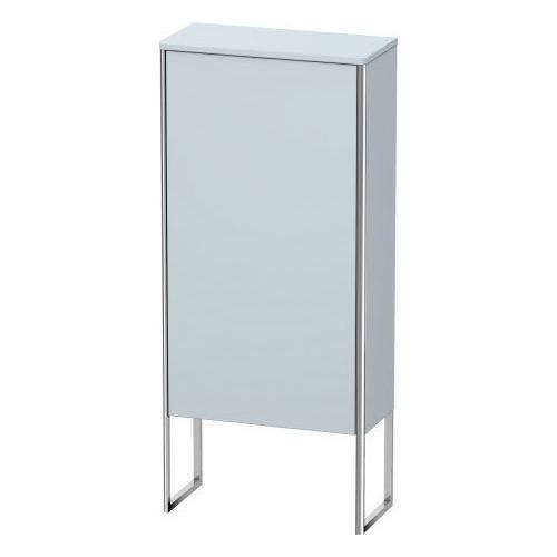 Duravit - Semi-tall Cabinet Floorstanding, Light Blue Satin Matte (lacquer)