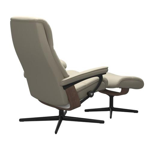 Stressless By Ekornes - Stressless® View (S) Cross Chair with Ottoman