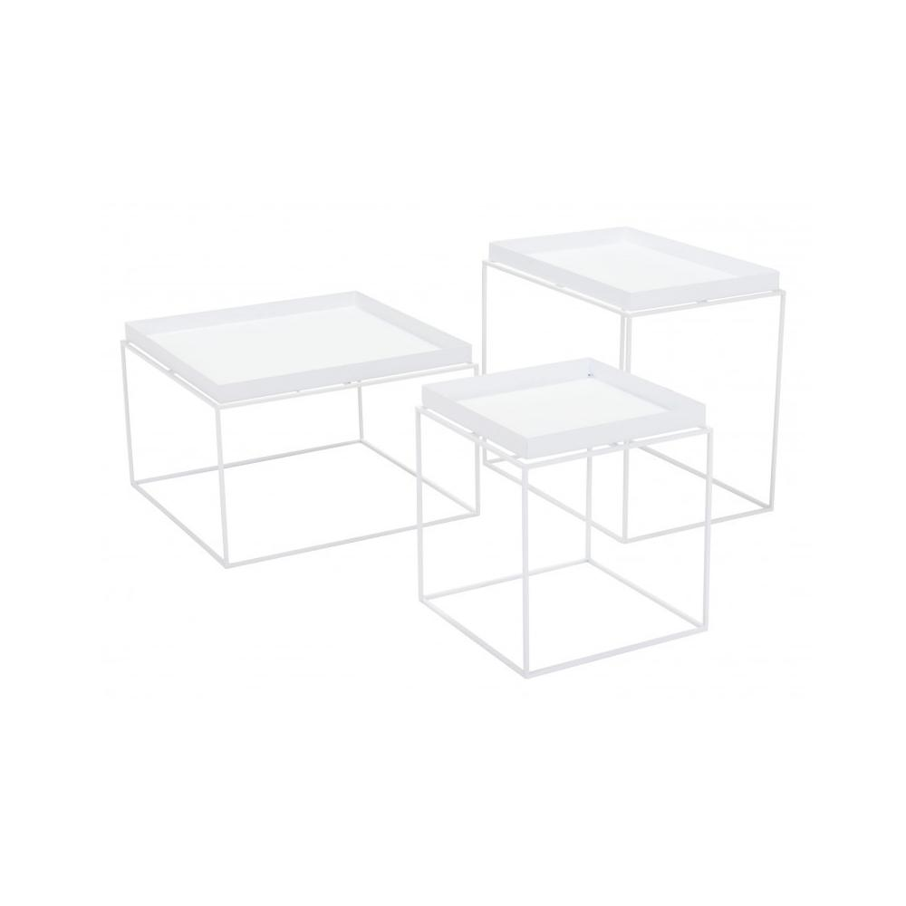 Gaia Nesting Tables White
