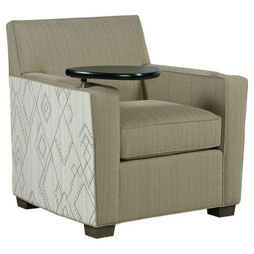 Fairfield - Lounge Chair with Tablet, Wireless Charger