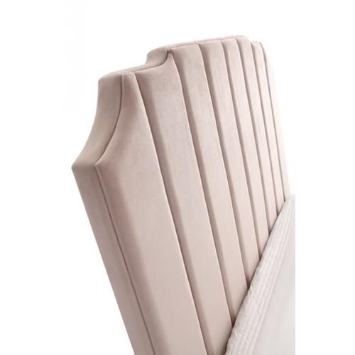 VIG Furniture - Modrest Melrose Modern Beige Fabric Bed