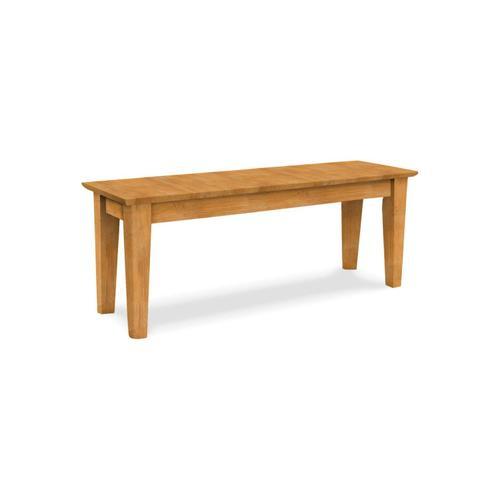 Product Image - 47'' Farmhouse Shaker Bench