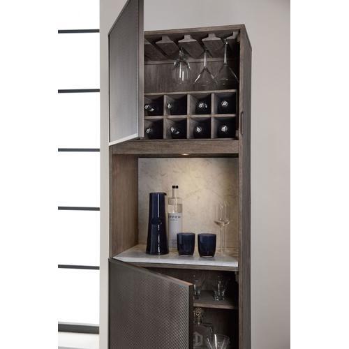Dining Room Melange Virtrine Bar Cabinet