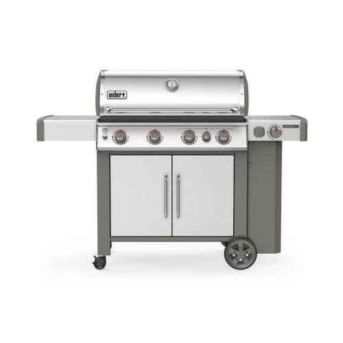 Weber - GENESIS II S-435 Gas Grill Stainless Steel Natural Gas
