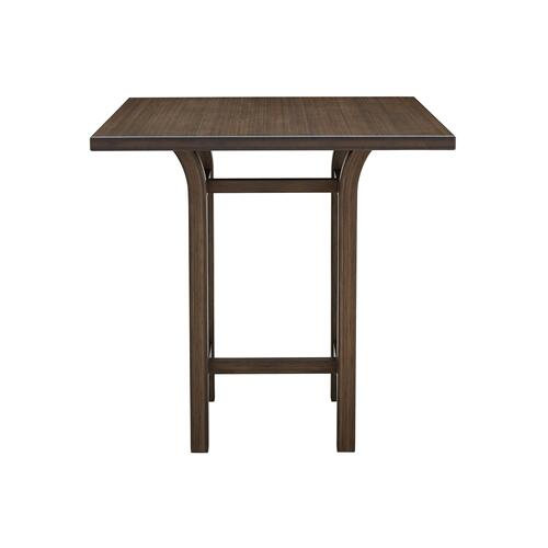 Tulip Bar Height Table, Black Walnut