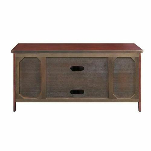 ACME Christella TV Stand - 10340 - Cherry for Flat Screens TVs up to 60""