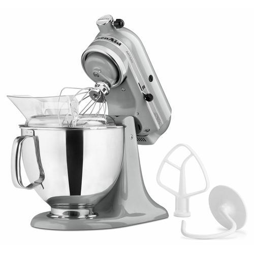 KitchenAid - Artisan® Series 5 Quart Tilt-Head Stand Mixer - Metallic Chrome