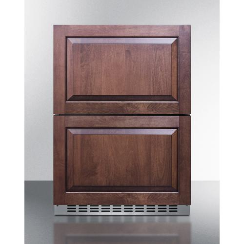 "24"" Wide 2-drawer Refrigerator-freezer"